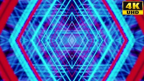 Thumbnail for Retrowave Kaleidoscope Vj Loops Pack V2