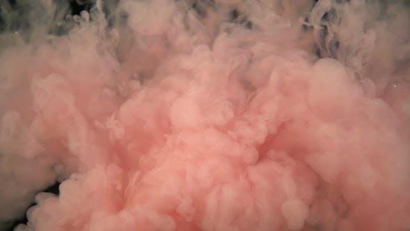 Thumbnail for Hinzufügen von rosafarbener Farbe zu Wasser