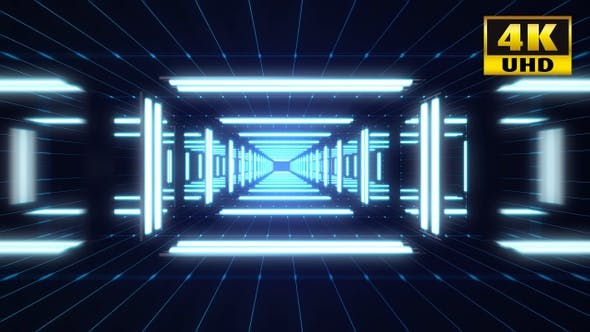 Cover Image for Light Tunnel Vj Loop Pack