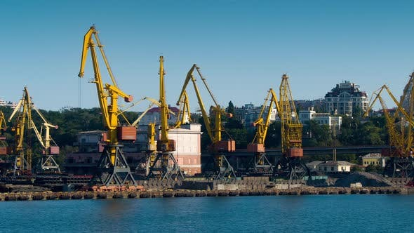 Thumbnail for Container Terminal in the Harbor