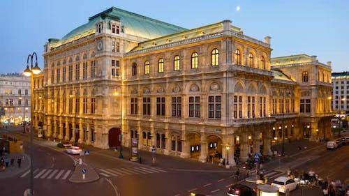 Evening  of Vienna Opera