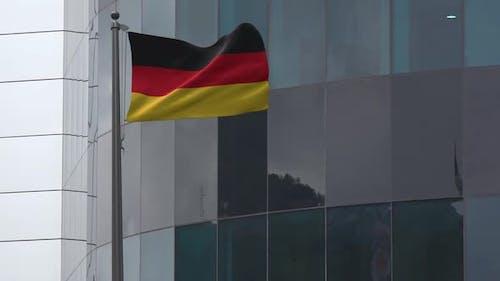 Germany Flag Background 2K