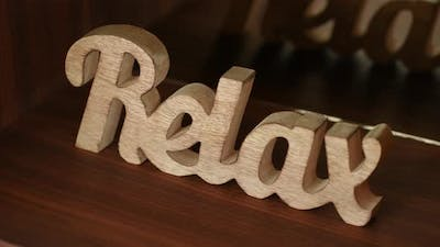 Relax Sign 17