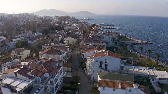 Thumbnail for Istanbul Prince Islands Aerial View Waggon