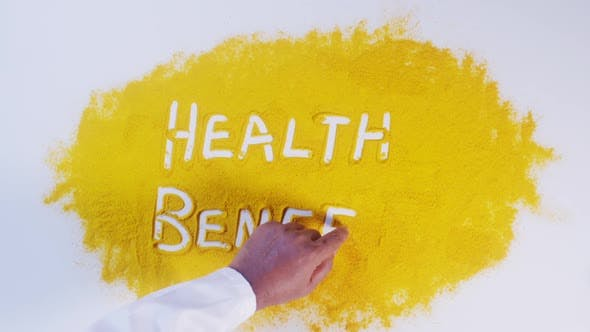 Thumbnail for Hand Writes On Turmeric Health Benefits