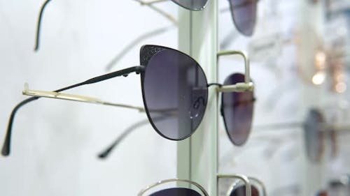 Showcase with Sunscreen Lenses