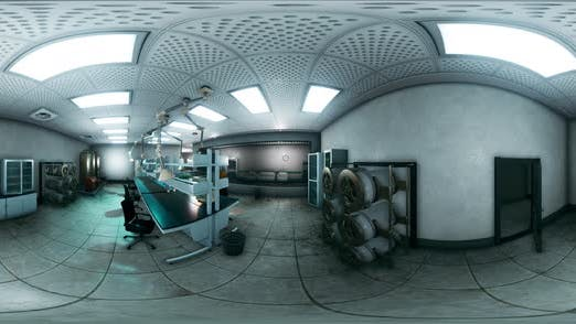 Thumbnail for VR 360 Sci Fi Laboratory for Exploration and Mining