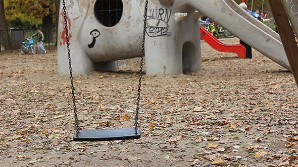 Thumbnail for Empty Swing at Playground