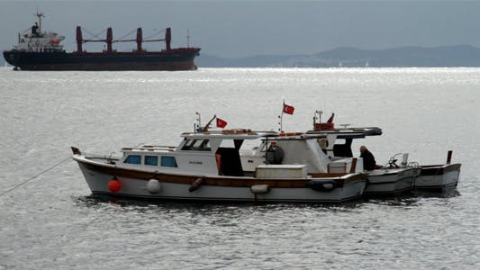 Thumbnail for Cargo Ships in Bosphorus 04