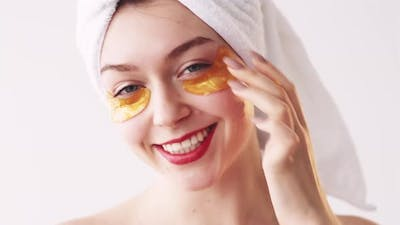 Under Eye Patches Skincare Product Woman Face Mask