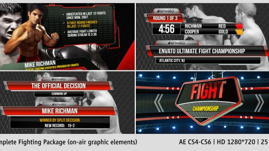 Fighting Complete On-Air Package