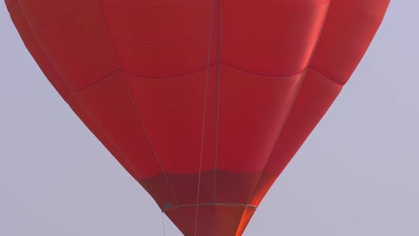 Thumbnail for Hot Air Balloon Red Close Up