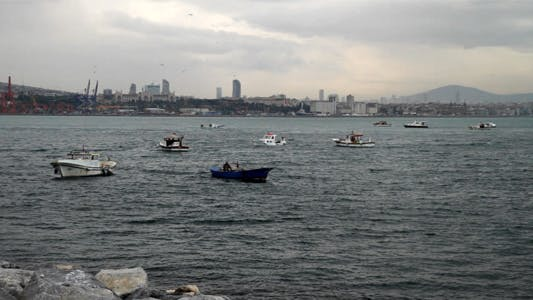 Thumbnail for Fishing Boats in Bosphorus