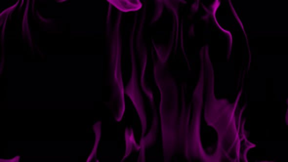 Realistic Pink Flame