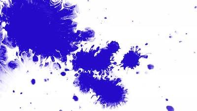 Blue Color Drops