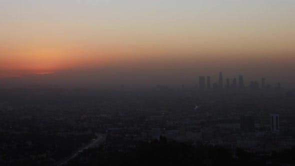 Thumbnail for Los Angeles Sunrise Time Lapse