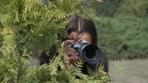 Paparazzi in the Bush