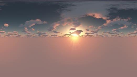 Thumbnail for VR 360 Grad Panorama Himmel und Wolken