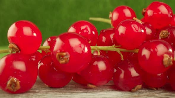 Thumbnail for Redcurrants on a Wooden Table