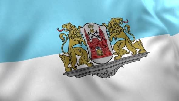 Riga City Flag (Latvia)