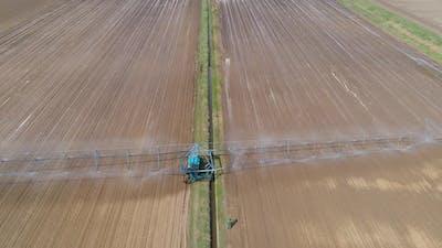Irrigation System on Agricultural Land