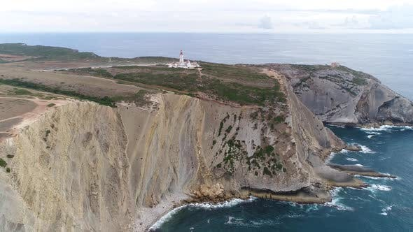 Thumbnail for Aerial View of Beautiful Portugal Coastline