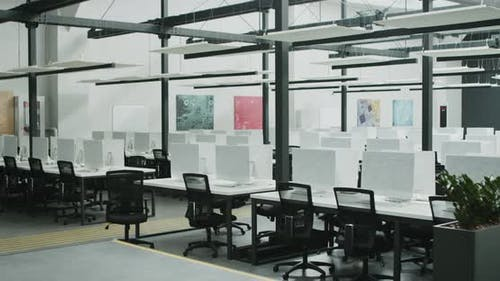 Rental Office for IT Workers with Covered Computers