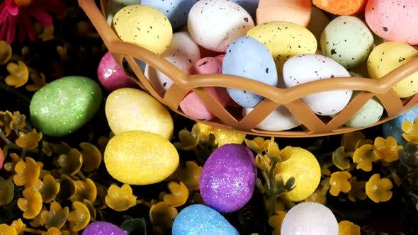 Colorful Traditional Celebration Easter Paschal Eggs 25