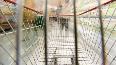 The Trolley in the Store