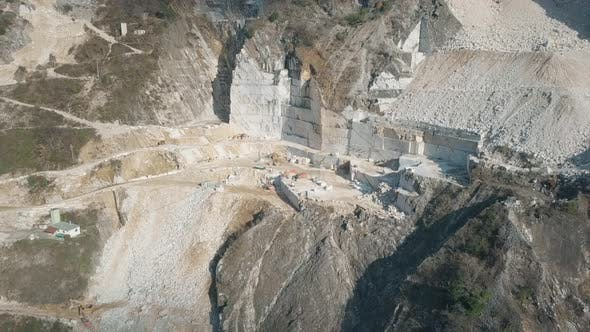 Thumbnail for Carrara Marble Quarry Mountains