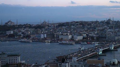 Turkey Istanbul at Night