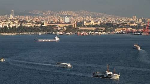 Istanbul Harbour in Turkey