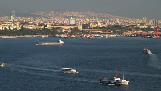 Thumbnail for Istanbul Harbour in Turkey