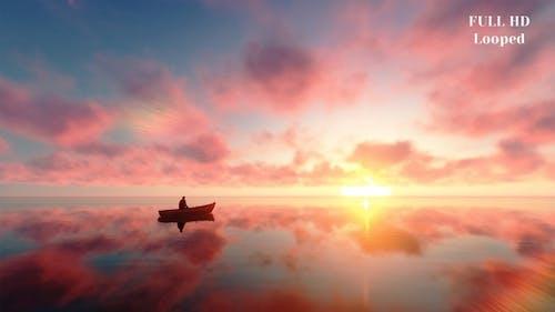 Meer Horizont Sonnenuntergang