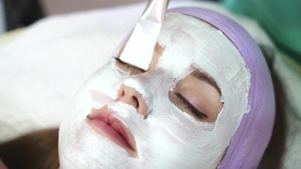 Thumbnail for Girl Relaxing in Spa Salon