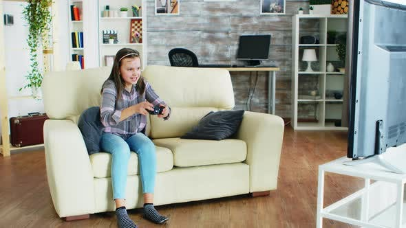 Thumbnail for Bad Behavior of Little Daughter After Her Mother Took Her Controller