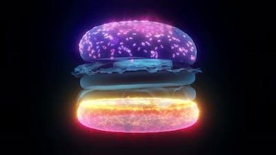 The Burger Hud Hologram 4k