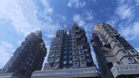 Capsule Micro Apartments
