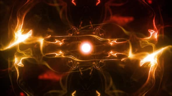 Thumbnail for Solar Radiation Particles Background