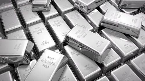 Silver Bars Ingots