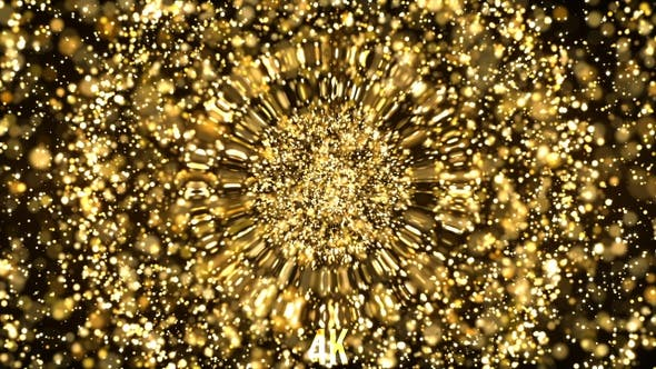 Cover Image for Hypnotic Golden Glitters