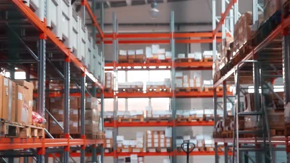 Thumbnail for Industrial Storage at Metal Factory Warehouse with Industrial Goods