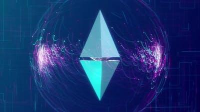 Ethereum Crypto Background