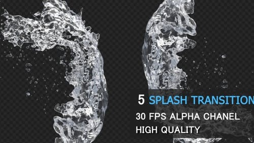Water Splash Transition