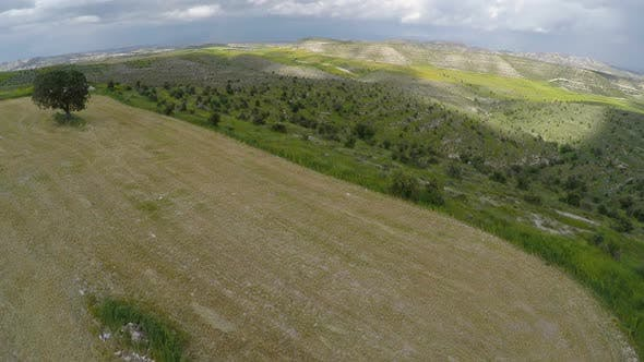 Thumbnail for Aerial View of Cyprus Landscapes, Quadrocopter Capturing the Beauty of Nature