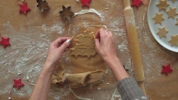 Dessert de Noël traditionnel fait maison