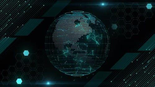 HUD Globe Background