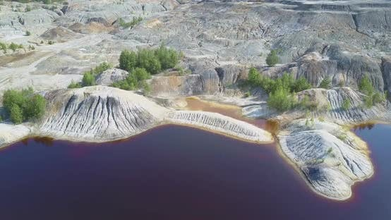 Motion To Green Trees Sprouting on Old Clay Pit Stone Hills