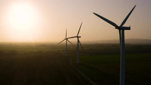 Thumbnail for Wind Farm at Sunrise