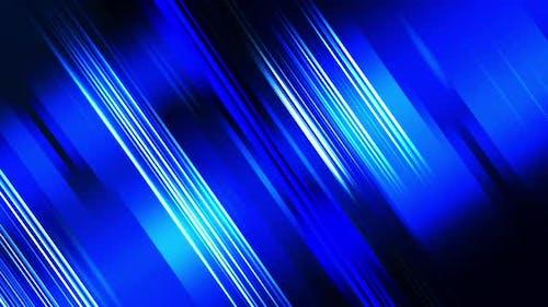 Lines Blue Diagonal Loop